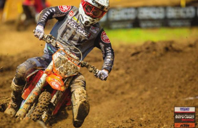 Bogle overcomes first moto crash to finish in top 20