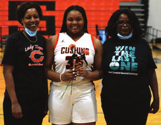 Cushing High School Basketball Senior Night