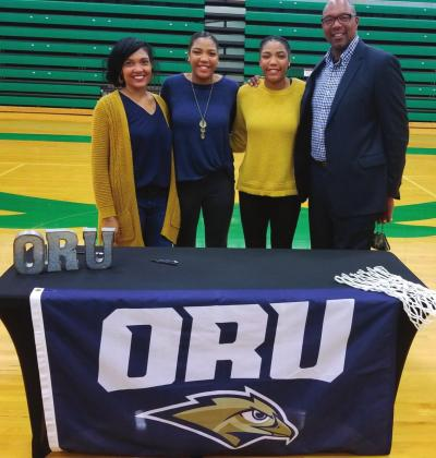 Moore girls sign letter of intent