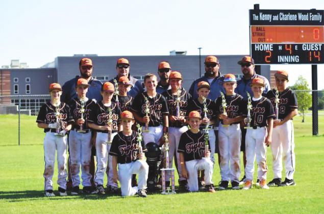10-U Tigers take regional title, advance to state tourney